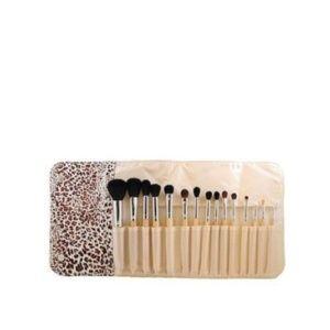 Morphe 694 15 Piece Wooden Handle Makeup Brush Set